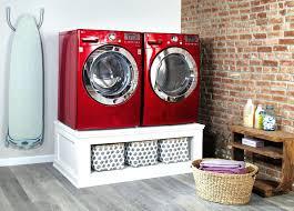 washer dryer pedestal washing machine and diy maytag neptune platform with drawers