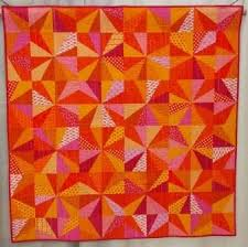 145 best Orange quilts images on Pinterest | Kid quilts, Blurb ... & Starburst by Nicole Neblett, spotted at QuiltCon 2013. Photo by Mad About  Patchwork Adamdwight.com