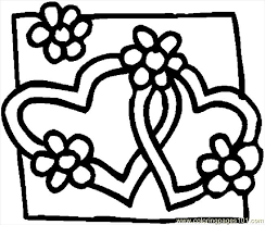 Small Picture Hearts 08 Coloring Page Free Valentines Day Coloring Pages
