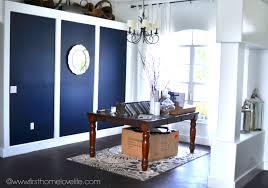 dining room progress navy blue