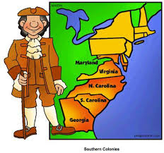 British Colonial America STUDY GUIDE Middle Colonies New England Colonies  Southern Colonies