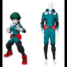 Height Chart My Hero Academia My Hero Academia Izuku Midoriya Deku Battle Suit Cosplay