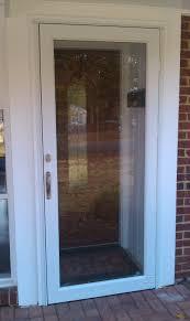 front doors with storm door. pella storm doors with glass panel and wood trim front door u