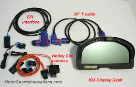 holley efi sensors water temp oil pressure fuel pressure and volts from the holley you can add a racepak bottle pressure and have it on the dash as well