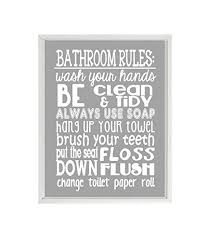 bathroom rules for kids. Modren Rules Bathroom Rules Wall Art Kids Rules Wash Your Hands Child  Bathroom Intended For