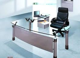 contemporary glass office desk. Glass Office Desks Modern Of Desk Unique Contemporary