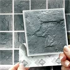 stick on wall tiles slate stick on self adhesive wall tile stickers for kitchen bathroom stick
