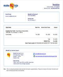 invoice sample pdf sample travel invoice 11 examples in pdf word