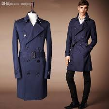 fall hot new 2016fashion brand trench coat mens double ted males coats and jackets with belt beige navy size m l jacket womens jacket free coat ny
