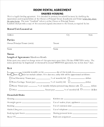 Simple Rental Lease Agreement Simple Month To Month Rental Agreement Template Business