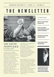 Vintage Newspaper Template Free Vintage Layout Design Newspaper Template Photoshop Retailbutton Co