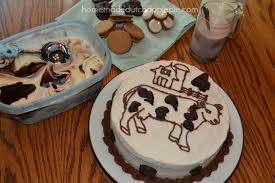 Birthday cakes homemade ~ Birthday cakes homemade ~ Cow spotted birthday cake