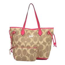 Coach Legacy In Monogram Medium Khaki Totes DCI