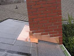 flashing around chimney cost color