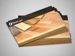 hardwood floor installation business card template