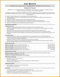 Fantastic Free Teacher Resume Templates Template Ideas
