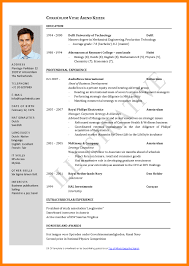 Standard Resume Format For Engineers Free Impressive Templates