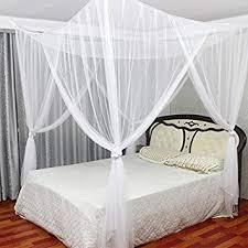 Amazon.com : MAGILONA Home 4 Corner Post Bed Canopy Cover Mosquito ...