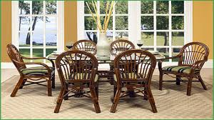 Cottage Dining Room Table Rattan Dining Room Furniture Wicker Dining Room Table And Chairs