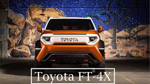 2018 Toyota FT - 4X Overview - Better than FJ Cruiser? - YouTube