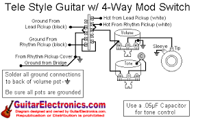 telecaster 2 humbuckers 4 way switch wiring diagram solidfonts switch wiring diagram the fabulous four mods for your strat tele les paul and super