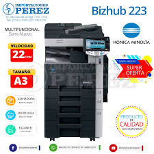 Home » help & support » printer drivers. Konica Minolta Bizhub 223 Venta De Copiadoras Importaciones Perez