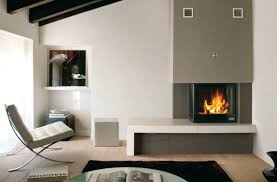 stunning corner fireplace design