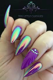 Best 25+ Purple nail designs ideas on Pinterest | Fun nail designs ...