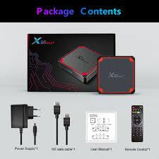 ANDROID Tv Box X96 Mini Plus 2gb16gb Amlogic S905W4, Lõi Tứ, Wifi 9.0g, 5g,  4k, 2.4 chính hãng 505,272đ