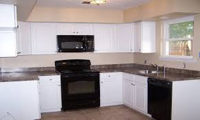 kitchen design white cabinets white appliances. Kitchen Design White Cabinets Black Liances Ahudm Granite De Appliances E