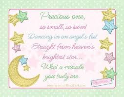 Miracle Baby Quotes Custom Starry Precious Baby Blessing Quote Pastel Twinkle Star