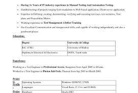 Resume Senior Embedded Software Engineer Resume Wonderful Resume