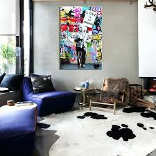 large art work unframed canvas art love is the answer wall art large colorful graffiti street large artwork australia artwork large wall space