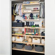 White & Birch elfa dcor Kid's Reach-In Closet ...