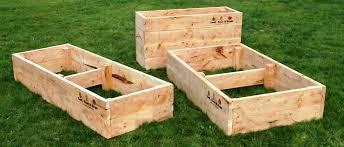 raised cypress veggie garden beds