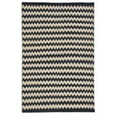 navy chevron jute rug black ivory handwoven 8 x free hand woven ebony