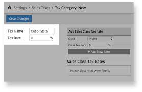 Setting Sales Taxes Lightspeed Retail