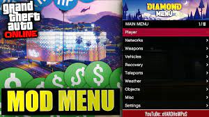 It is a simple script mod that allows you to spawn various items and activate various cheats in your game of grand theft auto v. Gta 5 Online Pc Free Mod Menu By L321 Free Download On Toneden