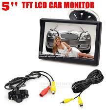 com buy diykit inch lcd display rear view car diykit 5 inch lcd display rear view car monitor led night vision car camera wire
