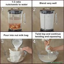 steps how to make hemp almond milk organic cotton nut milk bag 600