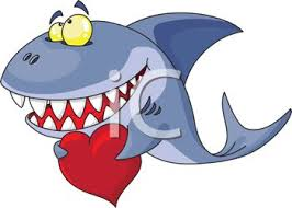 smiling shark clipart. Contemporary Smiling Cartoon Of A Smiling Shark Holding Heart For Valentineu0027s Day  Royalty  Free Clipart Image In N
