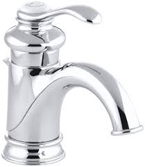 KOHLER K-12182-CP Fairfax Single Control Lavatory Faucet, Polished Chrome -  Touch On Bathroom Sink Faucets - Amazon.com