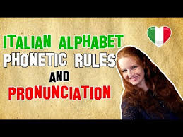 Here are all the letters of the italian alphabet in order (we've associated each letter with the name of a beautiful italian city — this way you can get some spelling practice too!) Italian Lesson 7 Italian Alphabet Phonetic Rules And Pronunciation Youtube