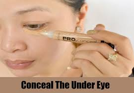 conceal the undereye conceal the under eye