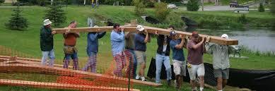 hartford rotary members build the rotary gazebo