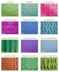 Knit Stitch Patterns Classy Stitch Patterns Using KnitPurl Combinations Knitting Unlimited