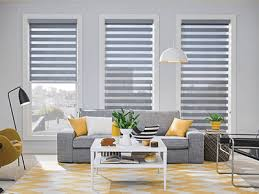 Living Room Window Blinds Collection