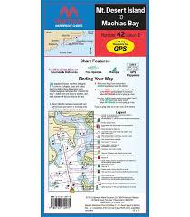 Maptech Waterproof Charts Maine Maptech Mt Desert Island To Machias Bay Waterproof Chart 2nd Edition 2012