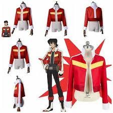 Voltron Legendary Defender Height Chart Voltron Legendary Defender Keith Red Coats Top Coat Cosplay