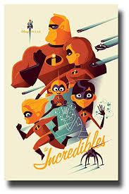 incredibles 2 poster.  Incredibles Incredibles 2 Poster Movie Promo 11 X 17 2018 Composite For M